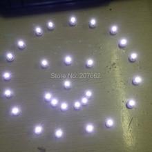 100 шт./лот 10 мм Мини светодиодный бумажный фонарь для воздушных шаров теплый белый светодиодный светильник для воздушных шаров Свадебные украшения