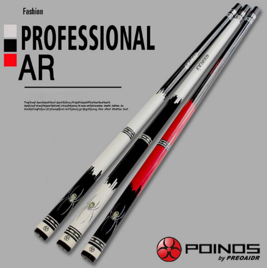 POINOS AR Billiard Pool Cue Stick 13mm/11.5mm/9.5mm Tips Black 8 Nine Ball Game 3 Colors Professional Billiard Kit 2019 ChinaPOINOS AR Billiard Pool Cue Stick 13mm/11.5mm/9.5mm Tips Black 8 Nine Ball Game 3 Colors Professional Billiard Kit 2019 China