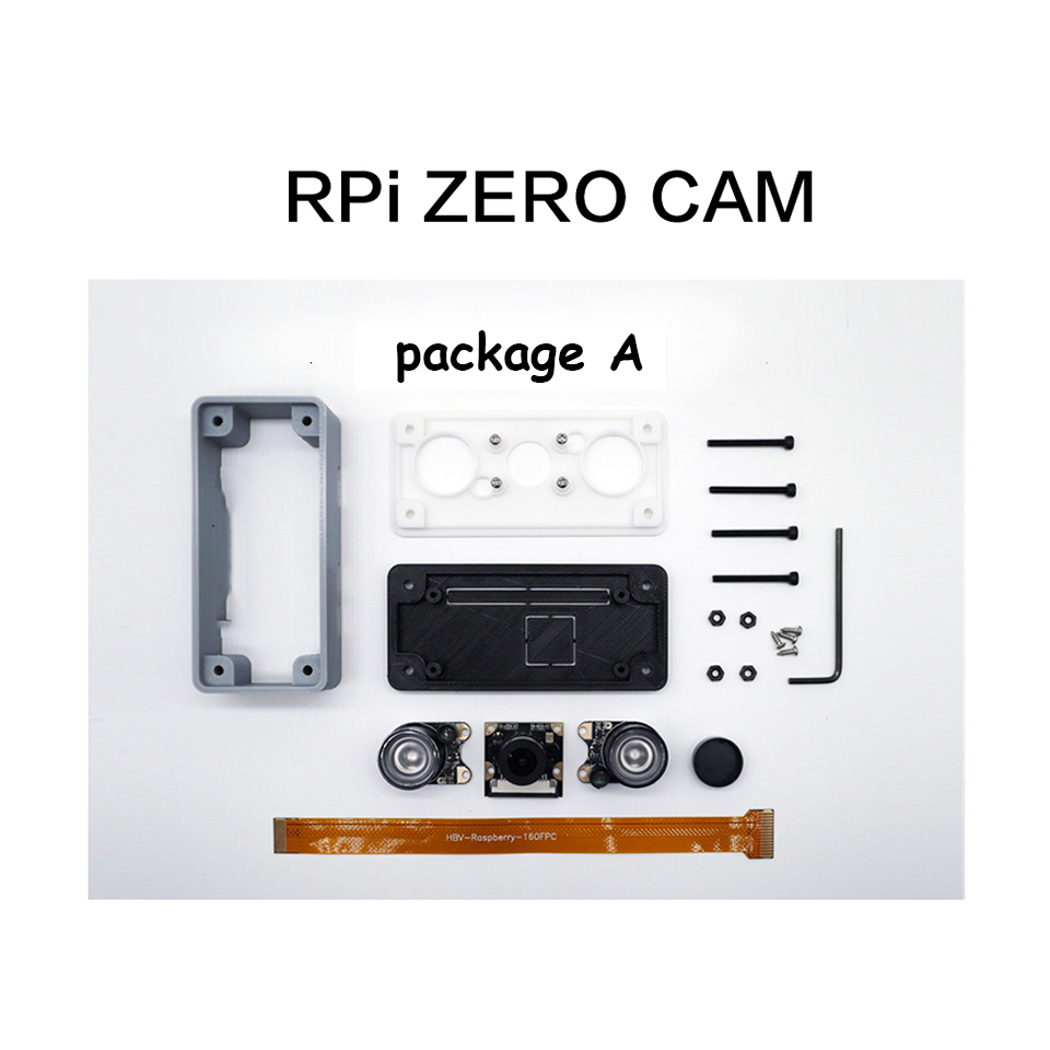 Image 3 - Raspberry Pi Zero Night Vision Camera Kit 3D Print Case for Raspberry Pi-in Replacement Parts & Accessories from Consumer Electronics