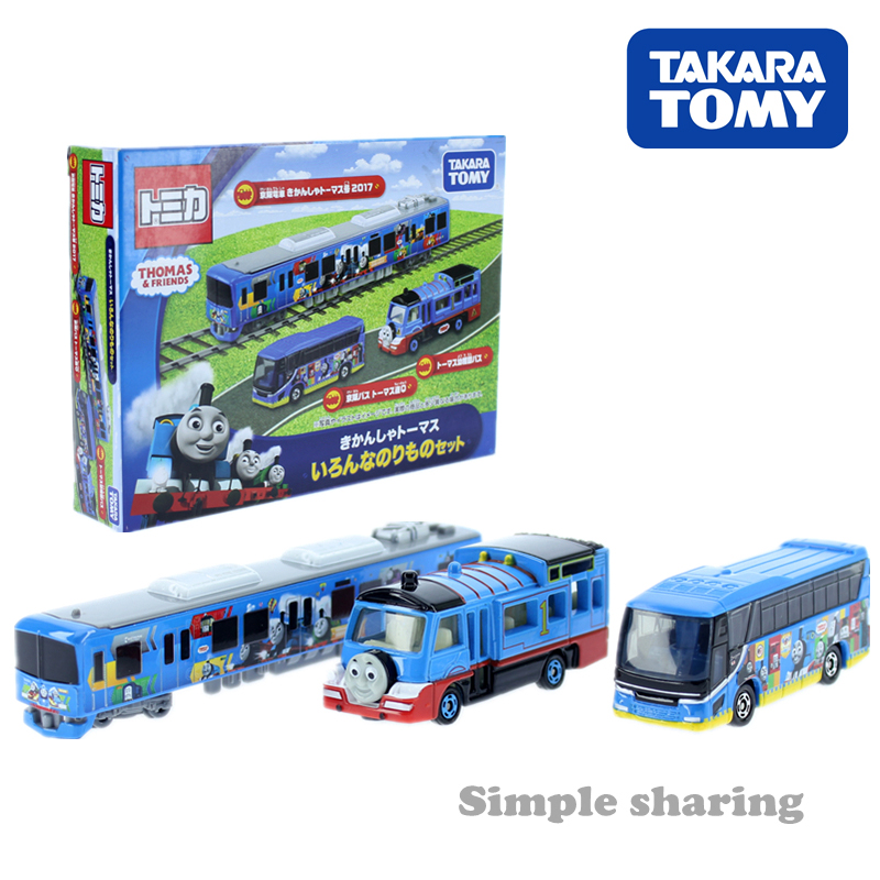 Tomica Thomas and his friends series various Vehicle Thomas the tank engine Takara Tomy Diecast metal model kids toys GIFT