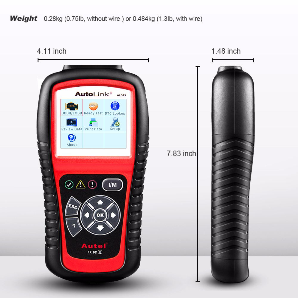 Image 5 - Autel AL519 OBD2 Scanner Diagnostic Tool Car Code Reader Escaner Automotriz Automotive Scanner Car Diagnostic Better than elm327