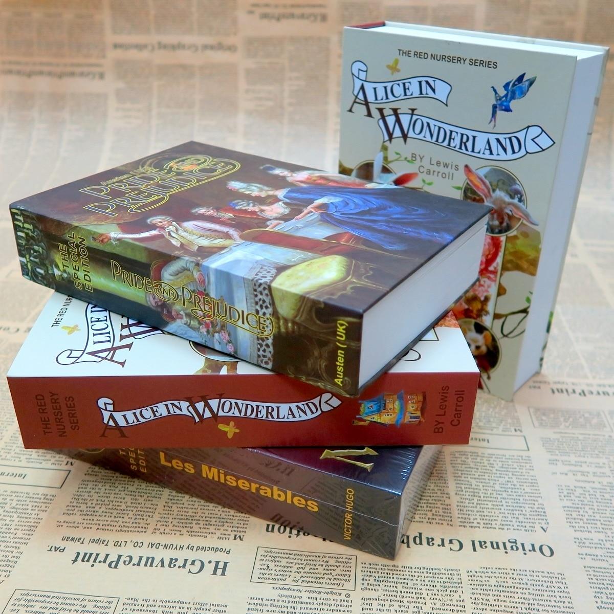 Несколько книг для моделирования, мини безопасный скрытый замок безопасности, хранение наличных монет, ювелирный шкаф для ключей, Подарочная денежная коробка для детей