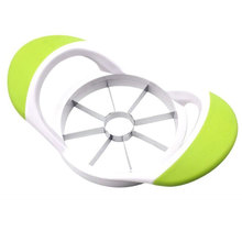 Apple Slicer Corer Cutter Pear Fruit Divider Tool Magnetic Stainless Steel Blades Comfort Handle Peeler Fast Dropshipping