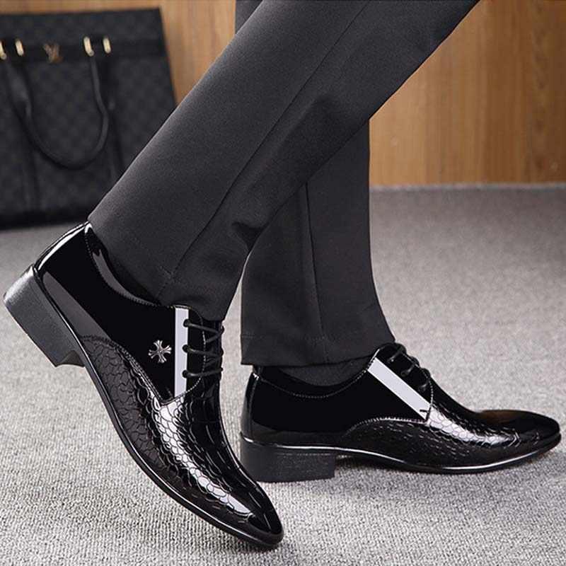 الرجال فستان حذاء جلد الثعبان الحبوب الرجال الزفاف أكسفورد أحذية الدانتيل متابعة مكتب دعوى حذاء رجالي كاجوال فاخر الايطالية 320