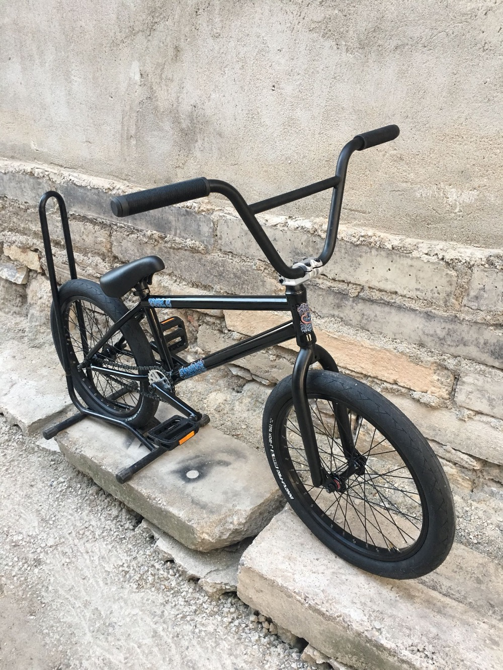 Fiend Type B Diy Bmx Bikes 20' Full Crmo Full Bearings 110psi Bears Tires
