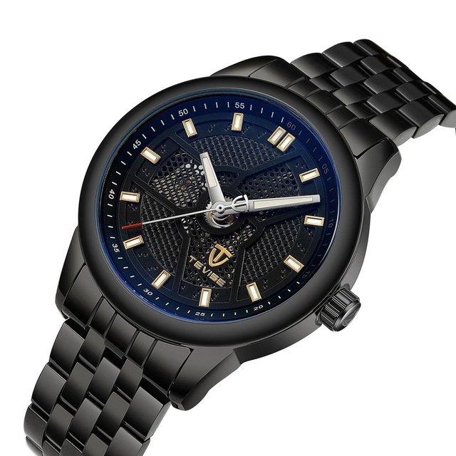 b37e5383cca TEVISE 9008g Homens Relógio Marca de Moda de Luxo relógio de Pulso À Prova  D