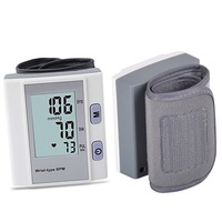 STRIKATE Digital LCD Wrist Blood Pressure Monitor Wrist cuff Blood Pressure Meter Esfingomanometro Tonometer For Home or Medical
