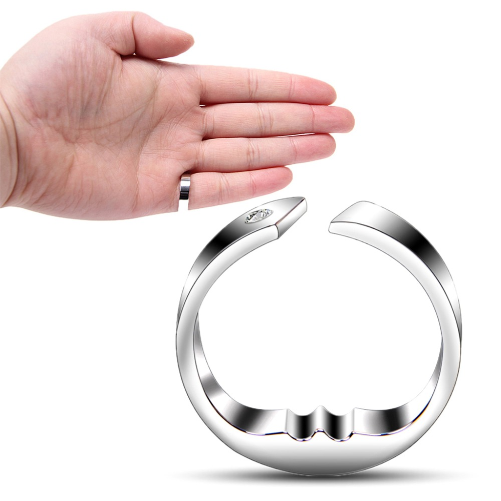 ZRLOWR Anti Snore Ring Acupressure Apnea Sleeping Aid Stop Snoring Against Insomnia Gai