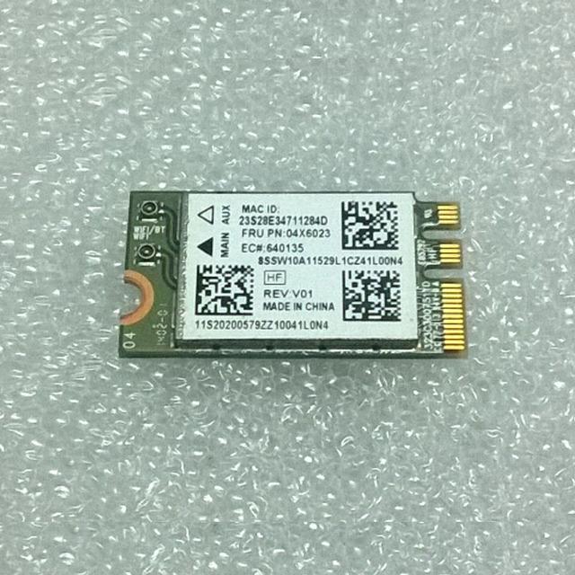 Ltn nfa345 ac + bt4.0 m.2 pcie wlan cartão para lenovo b50 series, FRU 04X6023 20200579