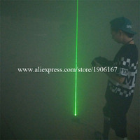 Atacado 3 PCS Super Bright Green Laser Pointer Laserman Mostrar Controle do projetor Por Pés Para DJ Do Estágio Do Laser Show de Dança clube