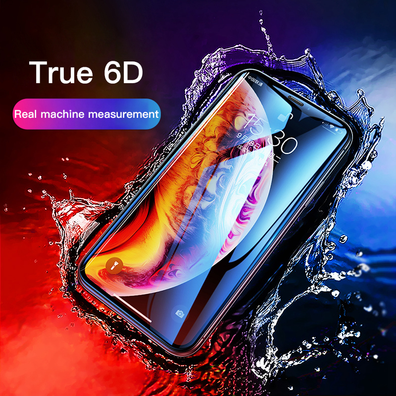 Transparent HD Protector Tempered Glass Film For IPhone 11 Pro Max XSmax XR XS X 8 7 6 6s Plus Full Cover Protective Screen Film