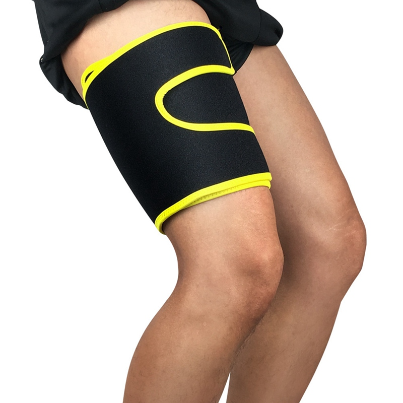 1pc Thigh Guard Adjustable Compression Protector Upper Leg Sleeve Cover Sportswear Accessories 8