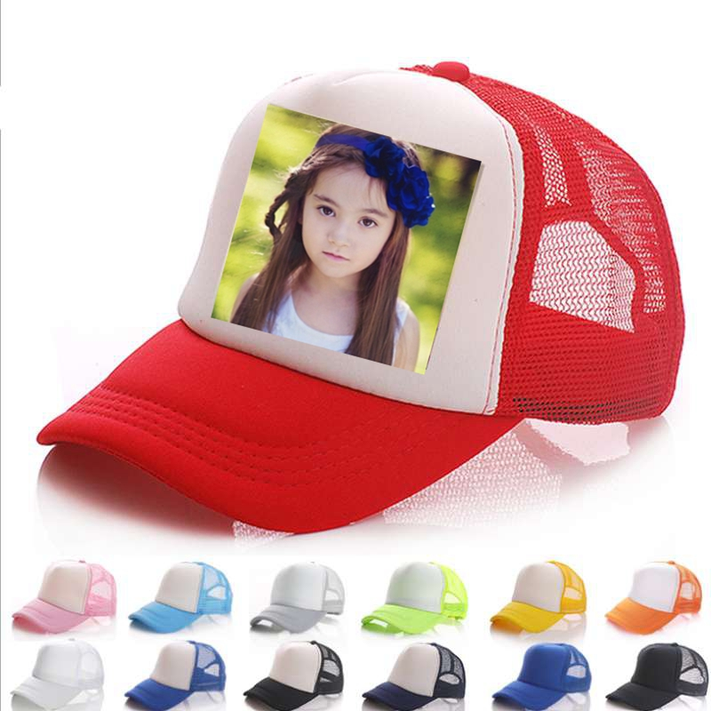 WZCX 2019 Fashion New Custom Logo Photo Image Casual Mesh Baseball Cap Tide Unisex Adjustable Summer Hat Adult Cap