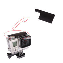 Plastic Underwater Case Waterproof Housing Case Shell Lock Buckle for Gopro Hero 3+ 4 Go pro Camera Accessories
