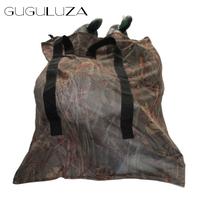 GUGULUZA Camo Decoys Bag With Shoulder Straps Mesh Backpack Decoy Bag Pigeon Dove Carry Large Duck