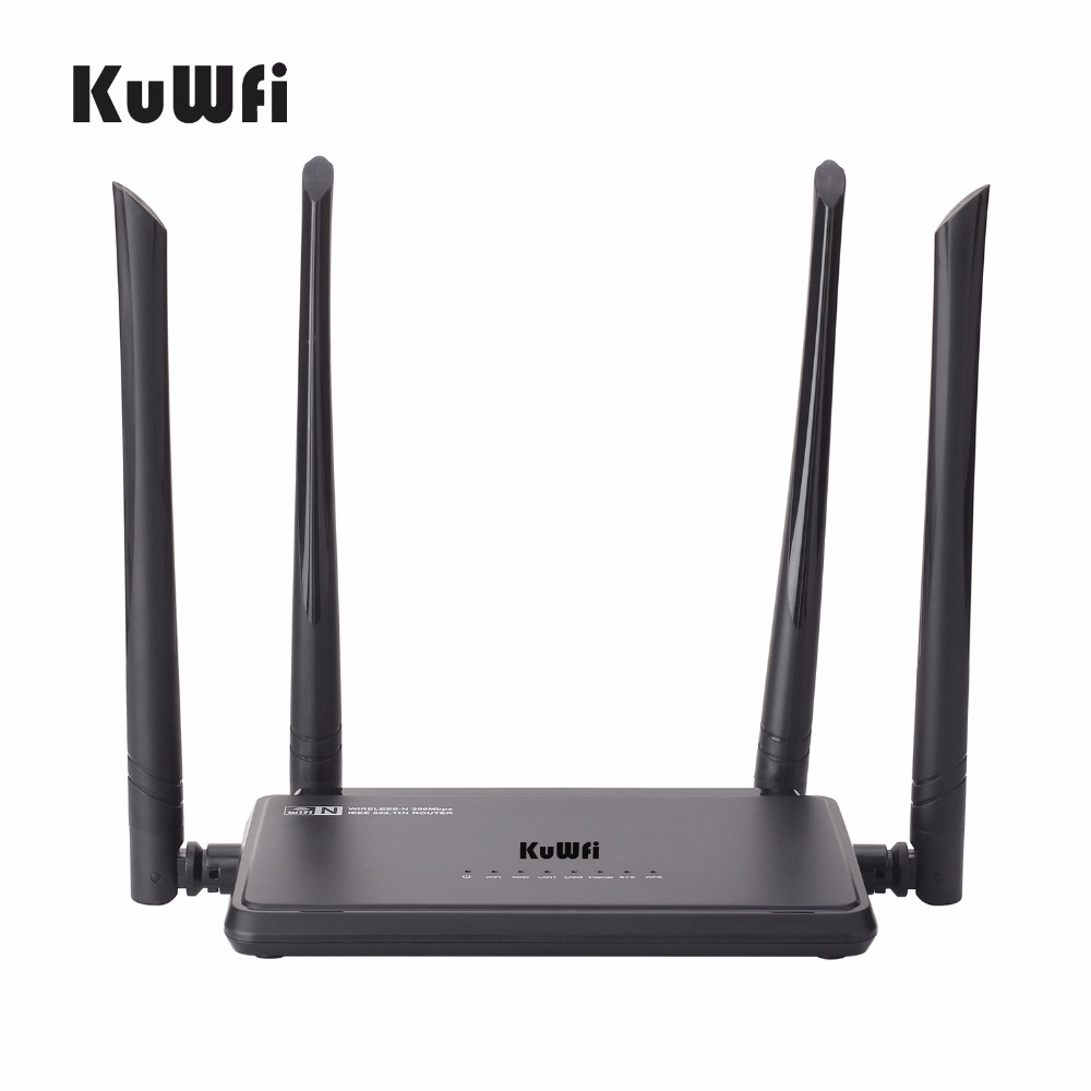 Smart Wireless Router 300Mbps Wifi Range Extender Support