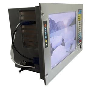 "Image 2 - 19 ""7U Rack Mount Industrie Workstation, 15"" LCD, Mit touchscreen, G41 Chipsatz, e5300 CPU, 4GB RAM, 500GB HDD, 4 * PCI, 4 * ISA"