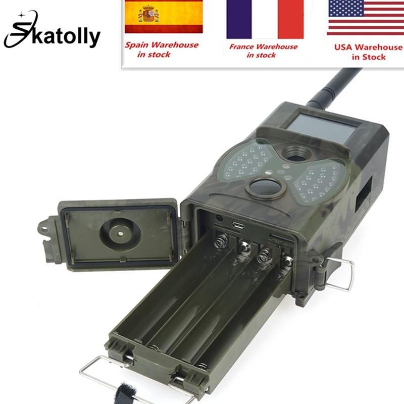 Skatolly HC300M caméra de piste de chasse HD 12MP 1080 P caméra de Vision nocturne vidéo piège MMS Scouting infrarouge IR appareil photo numérique