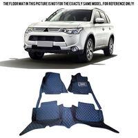 Left Hand Drive! Car Floor Mat Pad For Mitsubishi Outlander 5Seats 2013 2016