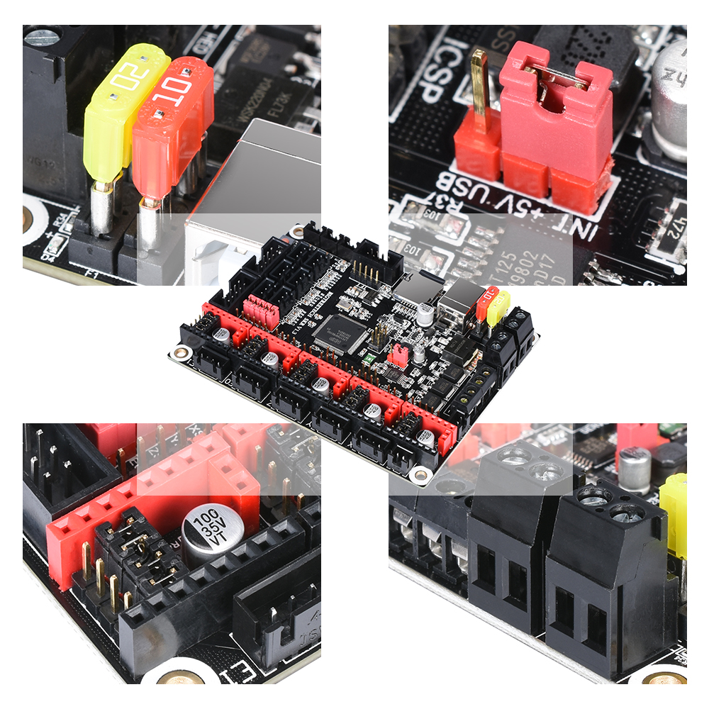 Image 5 - BIGTREETECH SKR V1.3 Control Board 32Bit Smoothieboard+TMC2209 V1.2 UART+TFT35 V2.0 3D Printer Parts vs tmc2208 tmc2130 MKS Gen-in 3D Printer Parts & Accessories from Computer & Office