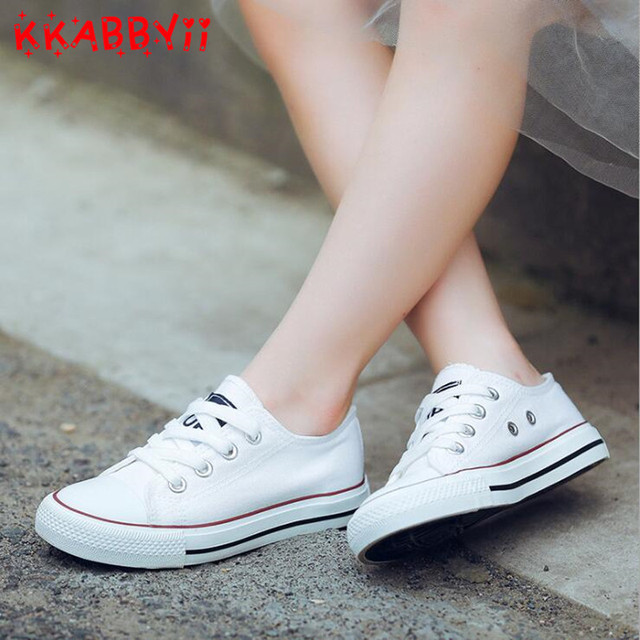 Kids Shoes for Girl Children Canvas Shoes Boys Sneakers New Spring Autumn Girls Shoes White Short Solid Fashion Children Shoes