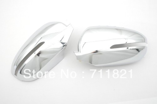 <font><b>Chrome</b></font> Side <font><b>Mirror</b></font> Cover For <font><b>Kia</b></font> Optima K5 2011-2013 image