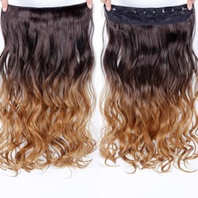 24inch Straight Hair Extentions Clip in on Hair