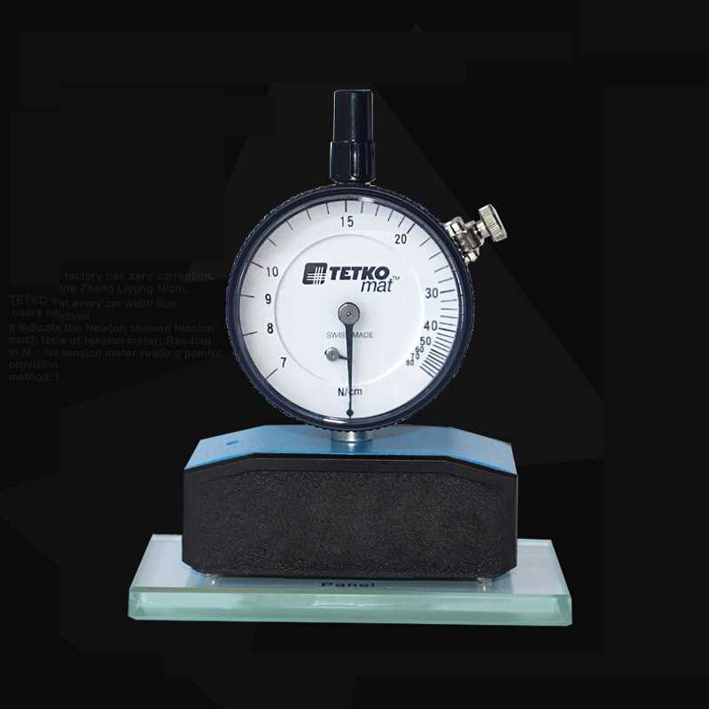 High Precision Steel print Mesh Tension Meter 7 50N Switzerland Mat Mechanical bolting cloth Gauge Force