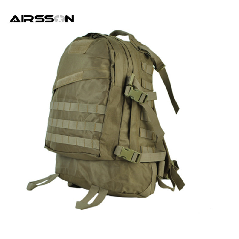 ФОТО Airsoft Military 1000D 3-Day Molle Tactical Assult Backpack Outdoor Combat Gear Nylon Hunting Shoulder Bag w/Chest&Waist Strap