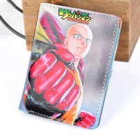 High Quality Cartoon Anime Cosplay One Punch Man Wallet Card Holder Zipper Purse Dollar Price 3 Styles 4
