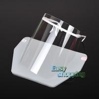 Dental Adjustable Detachable Full Face Shield With 10 Detachable Visors New