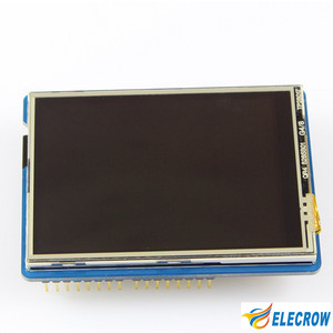 "Image 4 - לelecrow 2.8 אינץ TFT מגע מגן V4.3 עבור Arduino מגה 240x320 LCD מודולים 2.8 ""TFT תצוגת עם SD כרטיס DIY קיט"