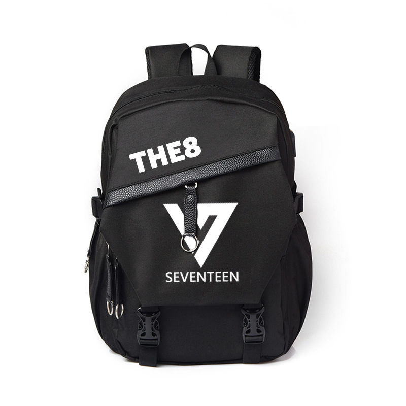 Luggage & Bags Backpacks Seventeen Same Paragraph Backpack Male And Female Student Bags Canvas Travel Backpack Computer Bag 2018 New
