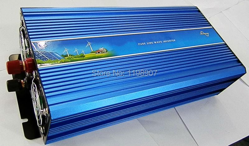 INVERTER Pure Sine Wave Converter DC 12V to AC 220V 230V 240V 3500w / 7000 watt Peak Free Shipping