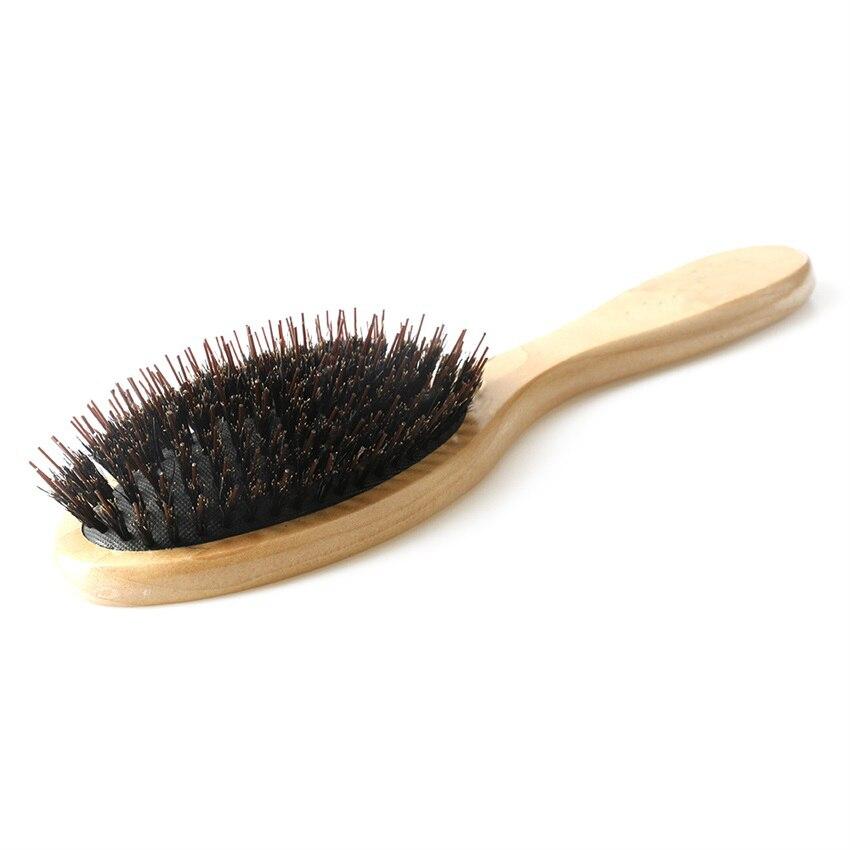 cerdas de javali oval paddle escova escova 01