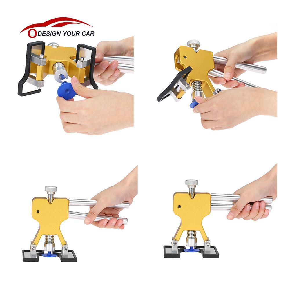 Цена за Автомобиль стайлинг Авто PDR Тела Дент Remover Ремонт Съемник Kit Инструменты диагностический инструмент
