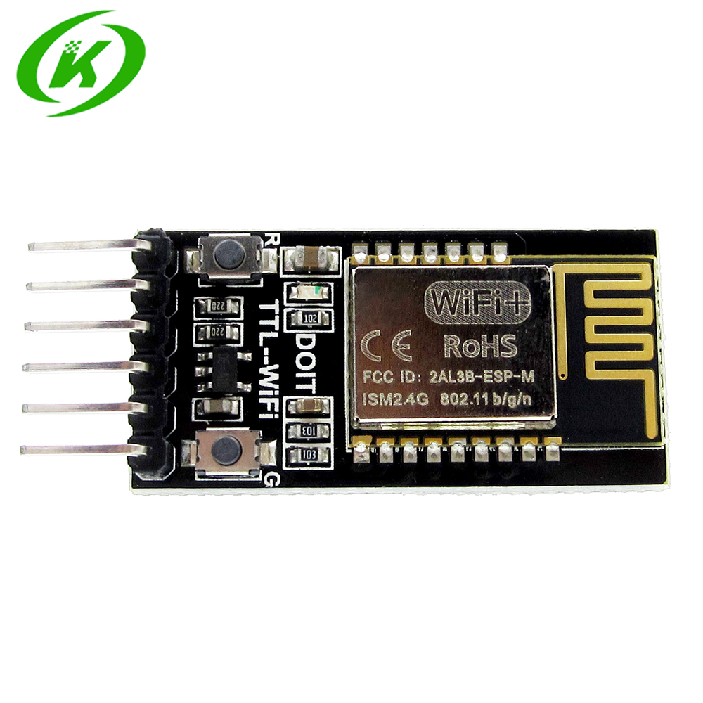 DT-06 Wireless WiFi Serial Port Transparent Transmission Module TTL To WiFi Compatible With Bluetooth HC-06 Interface ESP-M2