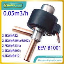 3.5KW Válvula de Expansión Electrónica (EEV) conveniente para el tipo de pequeña capacidad reemplazar Danfoss Válvula de Expansión Electrónica