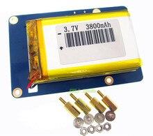 리튬 배터리 팩 확장 보드 라스베리 파이 3,2 모델 B,1 모델 B + 용 스위치가있는 전원 공급 장치