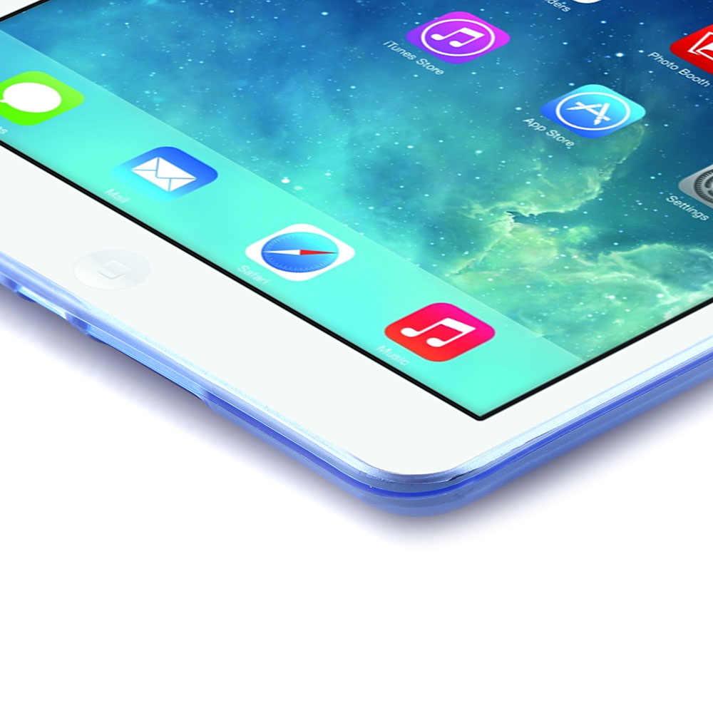 Obudowa z powrotem mody dla iPad Mini 4 ultra cienki miękki tpu silikonowe przezroczyste etui pokrywa dla Apple iPad Mini4 przypadki # C