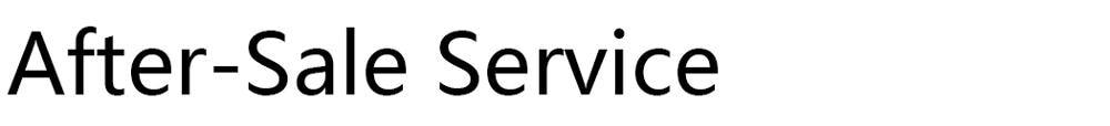after-sale-service