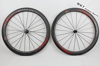 WOKECYC Powerway R36 Carbon Wheels 50mm Clincher 50C 25mm Width 3K Front 20 Rear 24 Internal