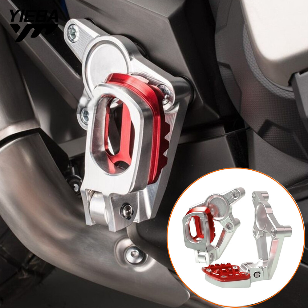 CNC Motorcycle accessories Folding Rear sets articular footpeg Foot Pegs Footrest Passenger For HONDA X-ADV XADV X ADV 2017 2018CNC Motorcycle accessories Folding Rear sets articular footpeg Foot Pegs Footrest Passenger For HONDA X-ADV XADV X ADV 2017 2018