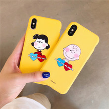 Cute Cartoon Couples Phone Case For iphone