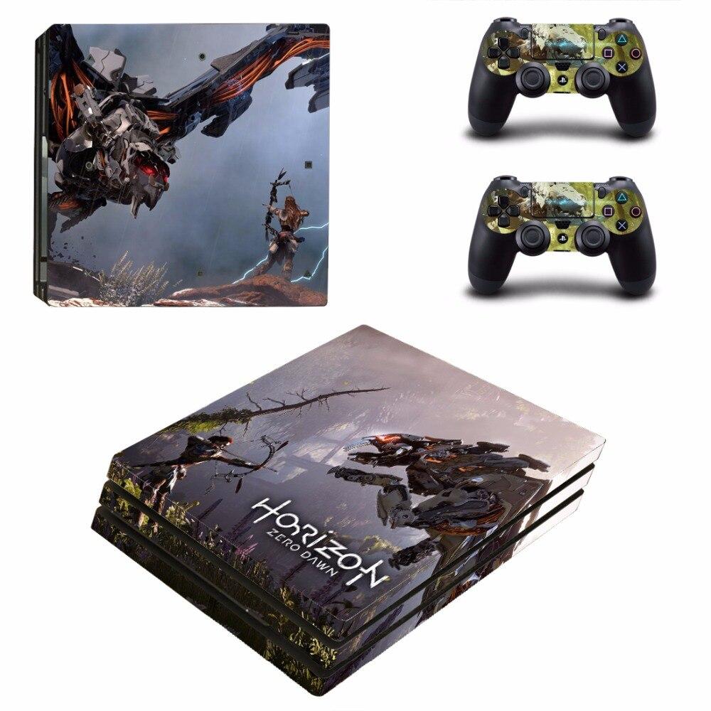 Game Horizon Zero Dawn Ps4 Pro Skin Sticker For Sony Playstation 4 Reg 3 Oststicker Pterosaur Vinyl Cover Decal Us 1225 2 Orders 1pcs