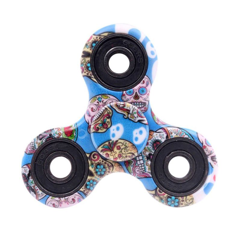 New 13 Style Tri-Spinner Fidget Toy EDC HandSpinner Anti Stress Reliever And ADAD Hand Spinners