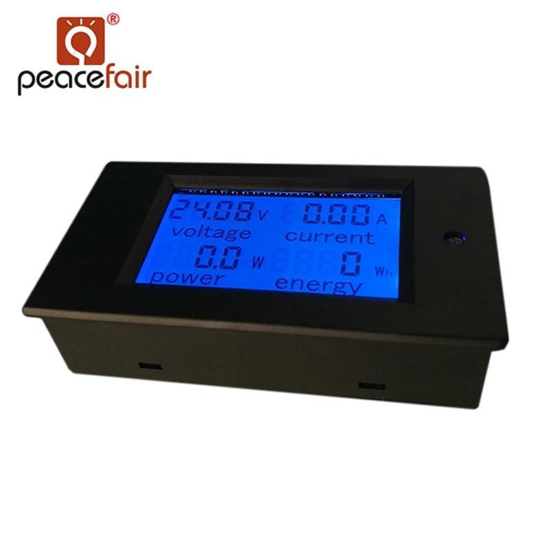 """""""Peacefair"""" skaitmeninis daugiafunkcinis voltmetras ampermetras - Matavimo prietaisai - Nuotrauka 4"""