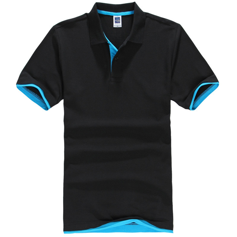Plus Size XS-3XL Brand New Men's Polo Shirt Herre Bomuld Kortærmet shirt Mærker Jerseys Herre Shirts Polo Shirts
