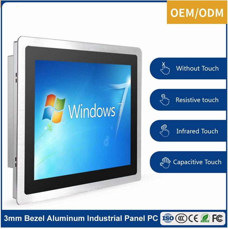 Écran tactile industriel de 15 pouces tout en un ordinateur tablette PC