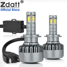 Zdatt 360 Degree Lighting 4 CSP Led H7 Led Canbus font b Lamp b font Bulb